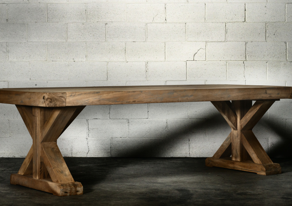 Williamsburg Dining Table Modern Rustic